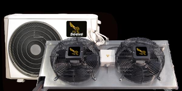 Сплит система среднетемпературная для холодильных камер Seeve 60 M