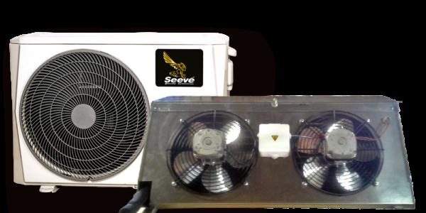 Среднетемпературная сплит система для холодильной камеры Seeve 25 M
