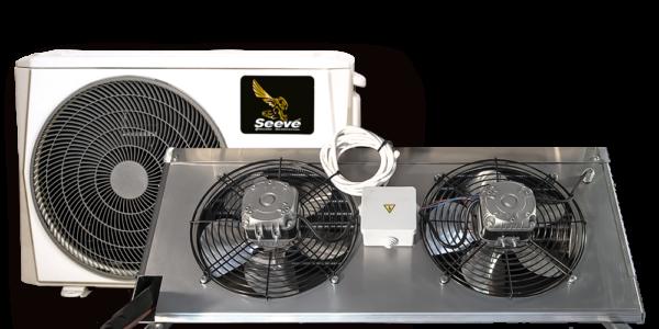 Среднетемпературная сплит система для холодильной камеры Seeve 35 M.