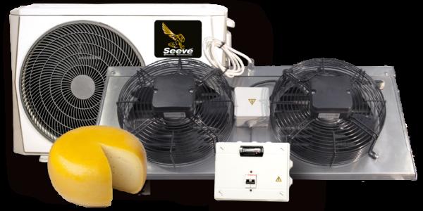 Холодильная сплит система для камеры созревания сыра Seeve 35 Chee